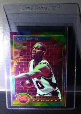 1993-94 Topps Finest Dennis Rodman #113 Midwest's Finest Basketball Card