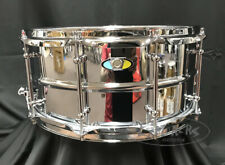 Ludwig Snare Drum Supralite 6.5x14 Chrome over Steel Beaded Shell w/ Tube Lugs
