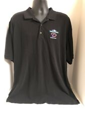VTG Arizona Diamondbacks MLB 2001 World Series Champions Polo Golf Shirt Mens XL