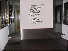 204 ángel .Wall Arte/Frases,Dormitorio Pegatinas,Adhesivo Pared,Gráfico vinilo