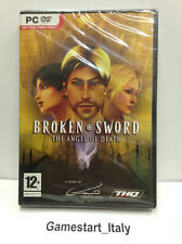 BROKEN SWORD THE ANGEL OF DEATH (PC) VIDEOGIOCO NUOVO NEW GAME VIDEOGAMES