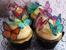 36 gorgeous assorted edible wafer butterfly cupcake cake toppers fairy birthday