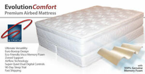 Strata Evolution Comfort Memory Foam Air Bed Mattress
