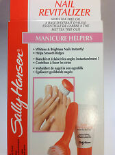 SALLY HANSEN NAIL REVITALIZER WITH TEA TREE OIL MANICURE HELPERS NEW.