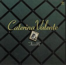 CATERINA VALENTE This Is Me 1975 UK Vinyl LP EXCELLENT CONDITION