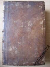 Antique Book OLD RARE Lexicon Biblicum. 1758.