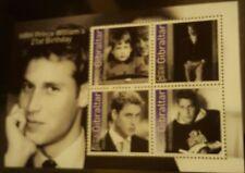 Royalty Sheet Gibraltarian Stamps