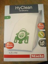 Genuine Miele HyClean 3D Efficiency U dustbags- for Upright Miele vacuum cleaner