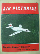 AIR PICTORIAL MAGAZINE MAY 1967 DASSAULT FAN JET FALCON