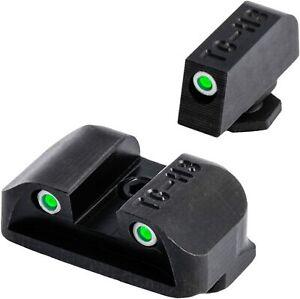 TruGlo Tritium Pro Brite Site Low Set Glock Handgun Sight, Glock 17 & More
