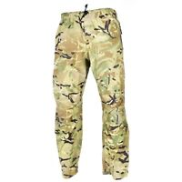 Genuine British army military combat MTP camo rain pants waterproof goretex