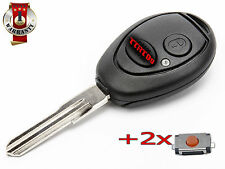 NEW LAND ROVER DISCOVERY 2 TD5 REMOTE CONTROL FOB KEY +2x SWITCH CLICK BUTTON