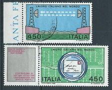 1982 ITALIA USATO LAVORO 2 VALORI - K1