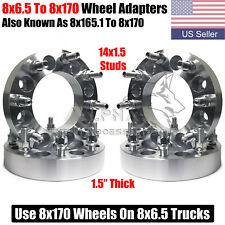 4 Wheel Adapters 8x65 To 8x170 Use Ford 8x170 Wheels On 8x65 Trucks 15 Thick