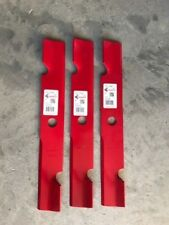 "3 Pack HD Notched Hi Lift Blades 52"" Exmark 103-6402 103-6402-S 18"" USA MADE"