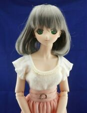 BJD 1/3 graue wig Dollfie Dream Smart Doll Super Dollfie
