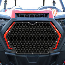 Steel Grille for Polaris RZR XP Turbo S 2019-2020 Hex Black