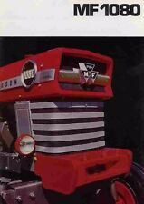 Massey Ferguson Mf1080 Workshop Service Manuals 220pg for Mf 1080 Tractor Repair