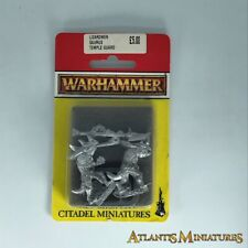 Metal Lizardmen Saurus Temple Guard Blister - Warhammer Age of Sigmar C1646