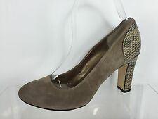 Vaneli Womens Stone Brown Heels 8 N