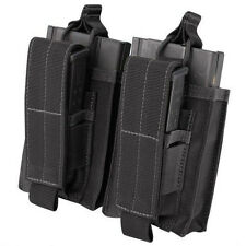 Condor 191040 Double Kangaroo Mag Pouch for 7.62 Rifle & Pistol Mags - Black