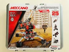 Meccano Super Construction Set, 25 Motorized Model Building. stem education toy