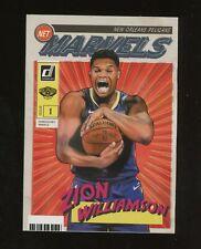 2019-20 Donruss Net Marvels #4 Zion Williamson Pelicans RC Rookie Auction #28