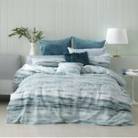 Bianca Lennox Quilt Cover Set Teal