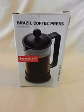 Brazil Coffee Press from Bodum 12 Fl. Ounces, Black and Clear