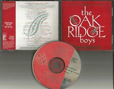 THE OAK RIDGE BOYS Country Christmas Eve ADVNCE DIFFERENT COVER ART PROMO CD 95