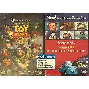 Toy Story 3 Plus Bonus Disc of Disney/Pixar 7 Unforgetable Short Films [DVD]