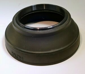 52mm Hoya  Lens Rubber Hood shade for 50mm f1.8 f1.4 lenses normal