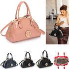 Women's Patent Designer Leather Style Celebrity Tote Bags Shoulder Handbags 352