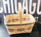"""Vintage 1991 Longaberger Easter Basket 11"""" x 8"""" x 5 1/4"""""""