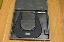 "Moore & Wright No. 935M 75-100mm Micrometer, 6"" Deep Throat"
