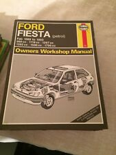 HAYNES MANUAL 1595 FORD FIESTA PETROL FEB 1989 to 1993 .  FREE UK POSTAGE