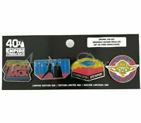 Funko Star Wars Empire Strikes Back 40th Anniversary Pin Set Limited Edition 500