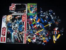 Lego Star Wars 8086 Droid Tri-Fighter Incomplete & Extra Pieces Bricks Lot