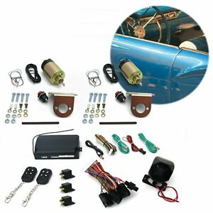 8 Function 50 Lbs Remote Shaved Door Popper Kit