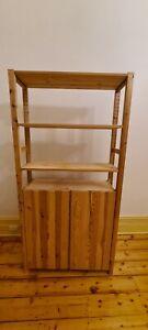 Used IKEA Bookshelf - Pine Unstained