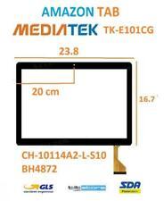 Touch Screen Vetro Mediatek TK-E101CG CH-10114A2-L-S10 BH4872 AMAZON TAB CAMERA