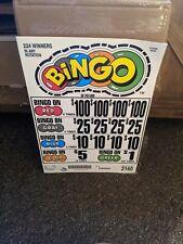 Pull tabs tickets casino