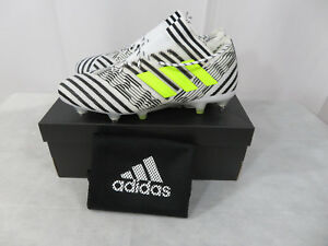 Adidas Nemeziz 17.1 SG Agility Soccer Cleats Men's White Dust Storm S82332