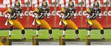 MIKE WALLACE STAR ROOKIE 4 CARD LOT 2009 UPPER DECK 262 PITTSBURGH STEELERS