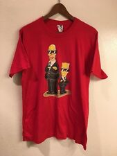 The Simpsons vintage single stitch Homer & Bart t-shirt (size: M)
