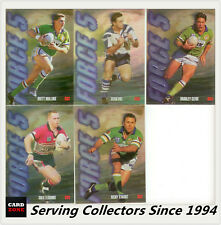 1995 Dynamic Rugby League Series 1 Force 5 Unsigned Card set (5) - Rare