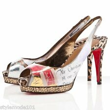 CHRISTIAN LOUBOUTIN Shoes Winter Trash Heels, Slingback, Pumps Open Toe