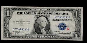 "SC 1935A ""R"" Experimental $1 Silver Certificate ***RARE***"