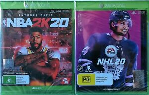 NBA 2K20 and NHL 20 Game Bundle Xbox One Brand New and Sealed