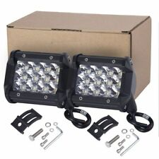 4In 144W Cube LED Pods Work/Driving Light Bar Spotlight Boat ATV OffRoad UTE 12V